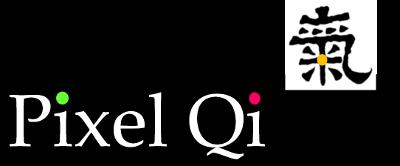 Sascha Pallenberg zeigt das zum Lesen sehr gut geeignete Display von Pixel Qi