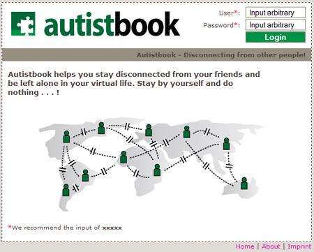 AutistVZ: Wo Sie ganz unter sich sind