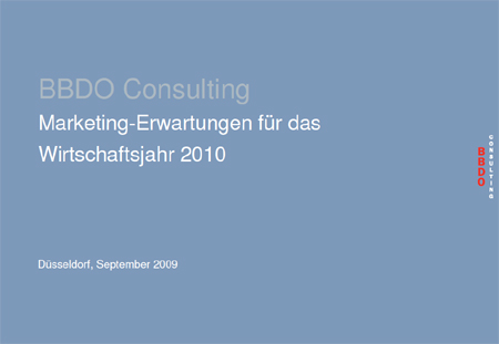 Marketingentscheider-Befragung von BBDO Consulting: Kundenbindung ist 2010 wichtigster Erfolgsfaktor