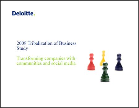 Deloitte-Studie: Wie Unternehmen mit Communities und Social Media umgehen