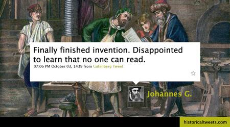 Gutenberg@Twitter