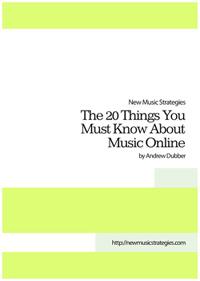 E-Book: 20 wissenswerte Dinge über Musik im Internet