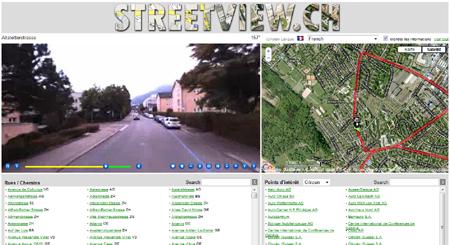 StreetView Switzerland: Wie Google Street View - aber mit Videos