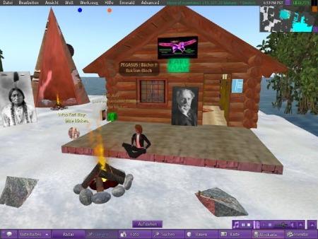Unsere Aktion verbreitet sich - auch in Second Life