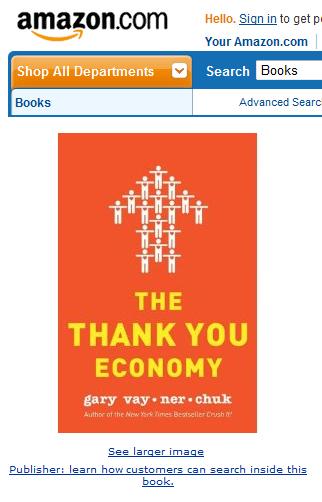 Gary Vaynerchuk will mit seinem neuen Buch ein spannendes Thema besetzen: The Thank You Economy