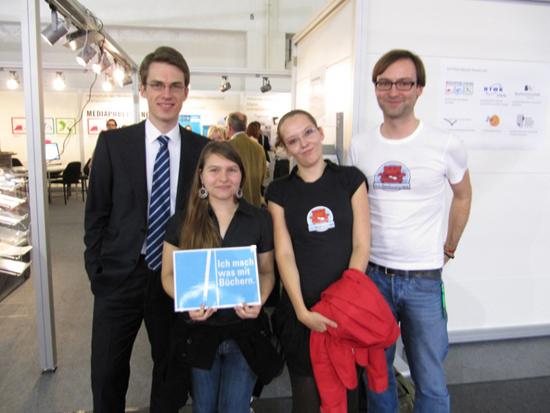 Leander Wattig, Doreen Kühne, Sandra Vogel, Sebastian Kretzschmar