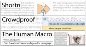 Soylent = Menschliche Schreib- und Programmier-Arbeit als Word-Funktion