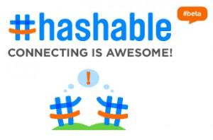 Hashable will das sein für Menschen, was Foursquare für Orte ist