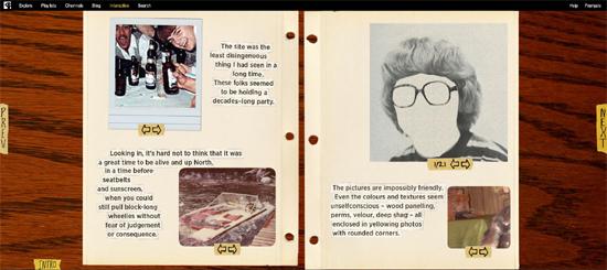 """""""Welcome to Pine Point"""" ist eine Mischung aus Buch, Film und Website"""