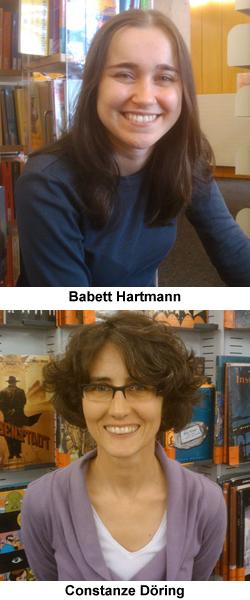 Babett Hartmann und Constanze Döring: Wir arbeiten in der Stadtbibliothek Köln