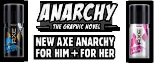AXE bewirbt neuen Duft mit einer Graphic Novel