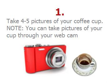 Cleveres Geschäftsmodell: Kaffeesatzlesen über das Web