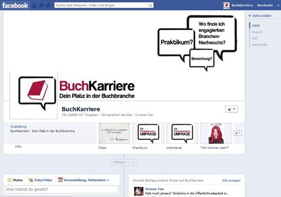BuchKarriere: Bekanntmachung des neuen Karriereportals für die Buchbranche vor dem Launch