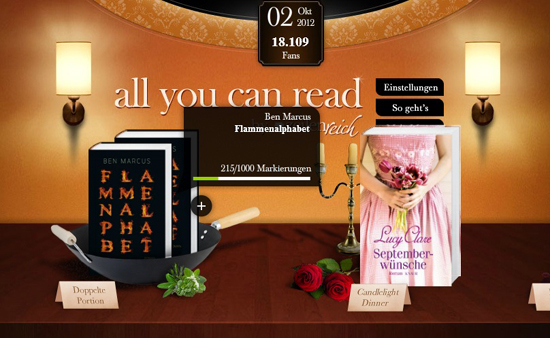 """zeilenreich: Das Gewinnspiel """"all you can read"""""""
