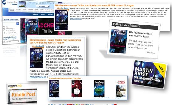 Ullstein Buchverlage: Vernetztes Bestselling - Ein Buchhandelsliebling in den eBook-Charts