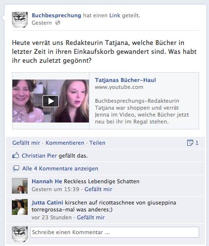 Buchbesprechung.de: Social-Video-Buchbesprecher