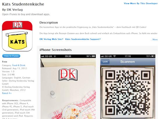 """Katerina Dimitriadis: Ein Kochbuch von Studenten für Studenten """"als Buch, im Web, als App"""""""