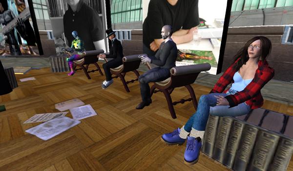 Thorsten Küper und Kirsten Riehl über SecondLife als Plattform für Autoren-Lesungen und Kultur-Events
