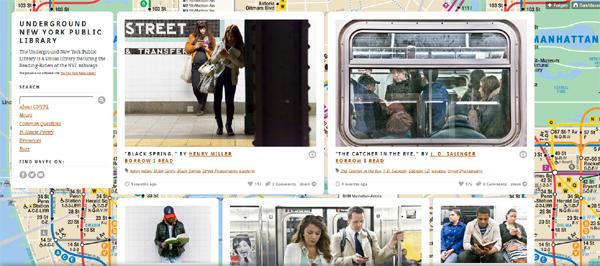 Schöne Sammlung: Underground New York Public Library