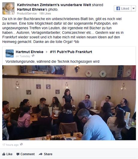 Rücklick: #pubnpub in Berlin, Frankfurt, München und Zürich - nächste Termine: Essen, Hamburg und Wien