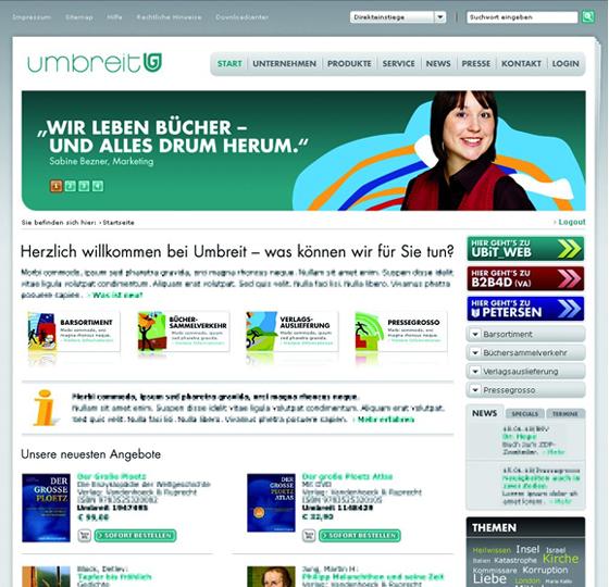 Umbreit: Umbreit reloaded - Wie macht man Zwischenbuchhandel sexy?
