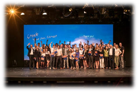Bertelsmann: 'Talent Meets Bertelsmann' als Element der Kampagne 'Create Your Own Career'