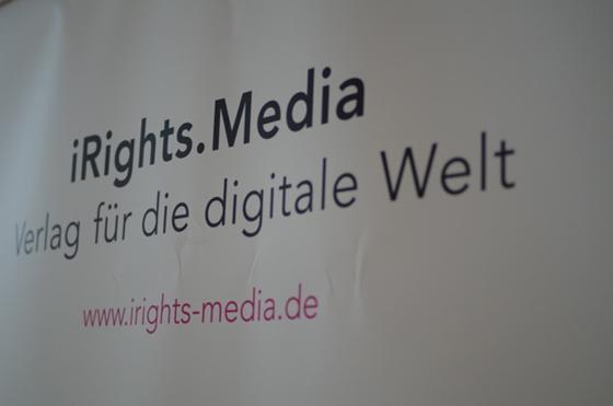 iRights.Media: Der ganze Verlag, ein einziges Labor