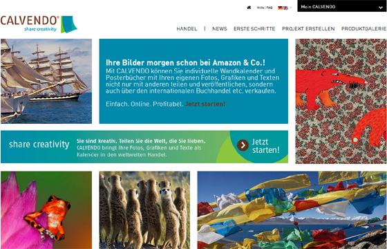 CALVENDO Verlag: Self-Publishing für Fotografen, Grafiker und Künstler