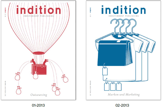 "tredition: ""indition"" - Fachmagazin für Independent Publishing"
