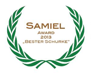"""Albrecht Behmel: """"Samiel Award"""" - Literaturpreis für herausragende Antagonisten"""