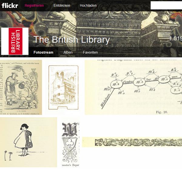 Über 1 Mio. gemeinfreie Bilder der British Library bei Flickr