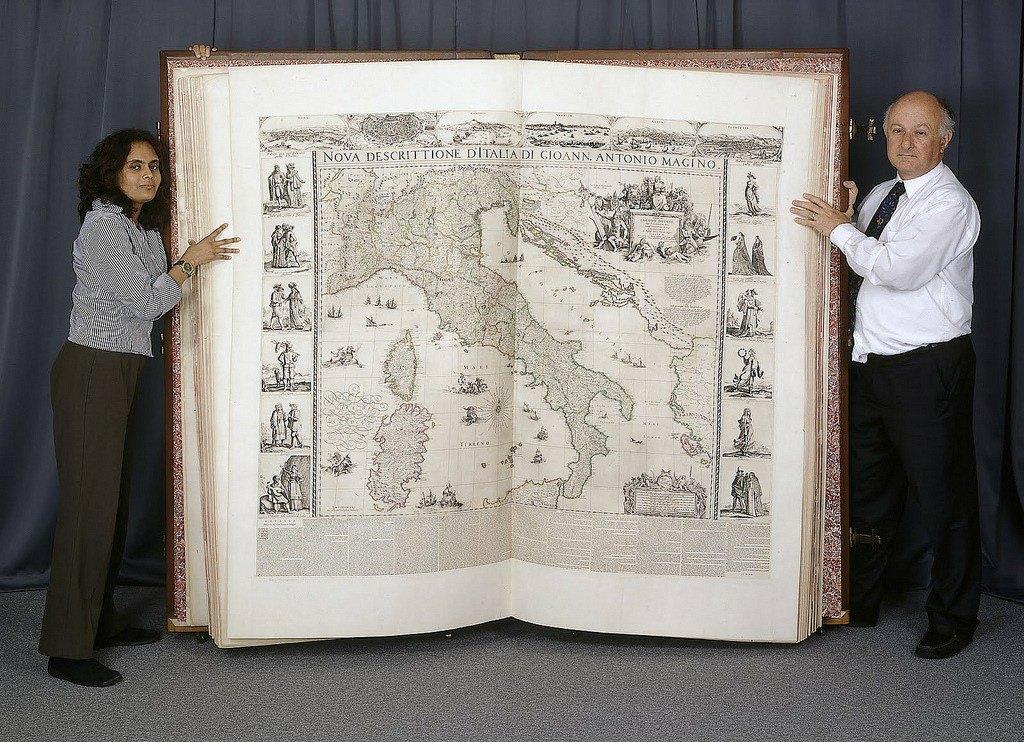 Riesenbuch: Der Klencke Atlas
