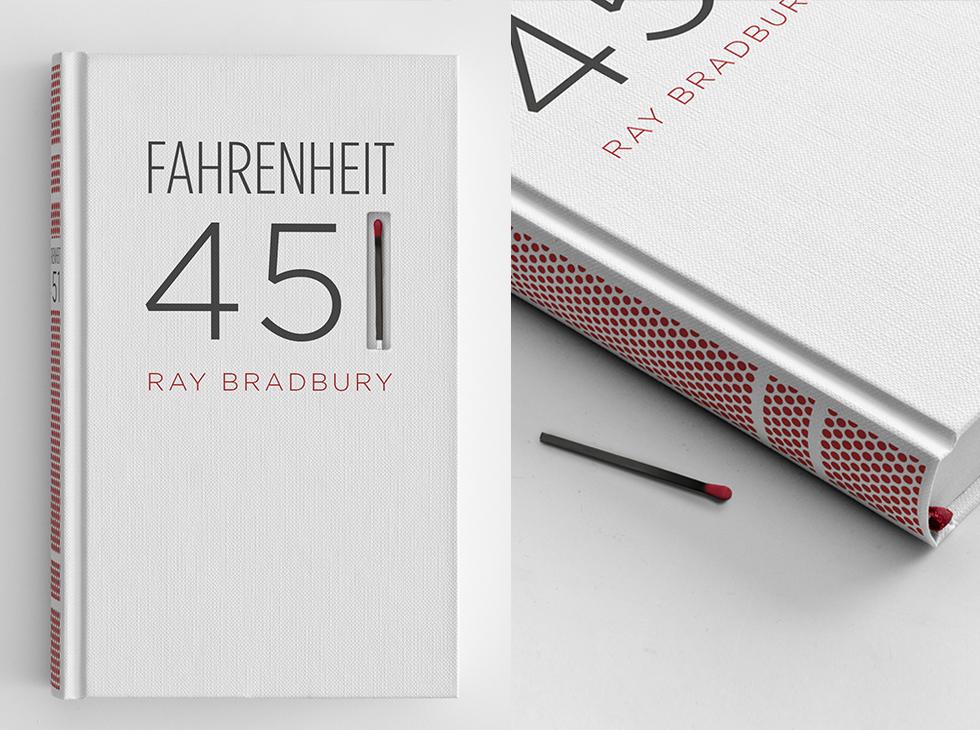 Fahrenheit 451 - ein Buch als Streichholzschachtel