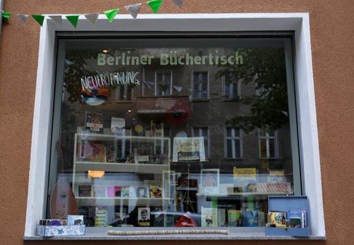 Berliner Büchertisch - Neueröffnung