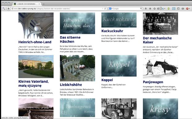 Ulrike Draesner: Making-of-Webseite zum neuem Roman bei Luchterhand