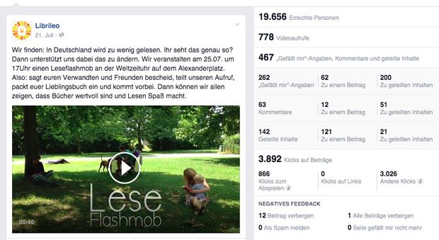 Librileo: Leseflashmob in Berlin
