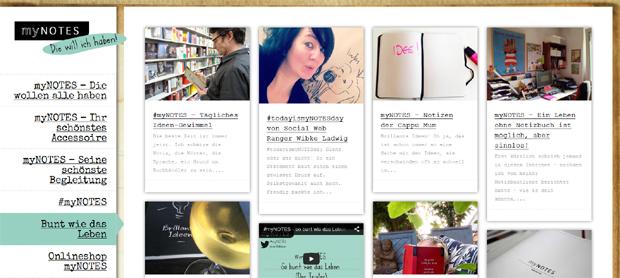 myNotes Blog