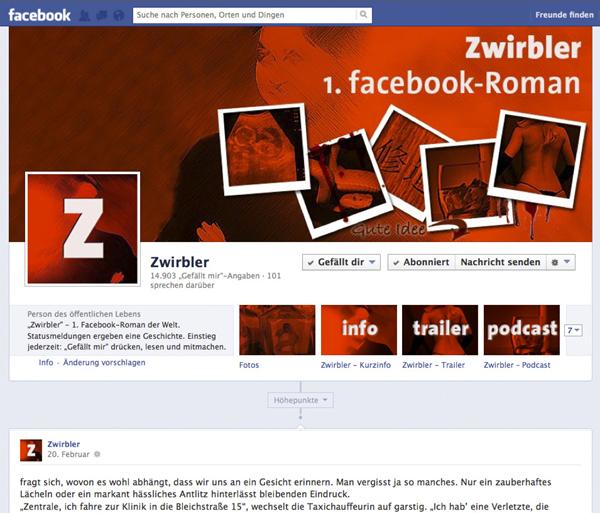 """TG: Der Facebook-Roman """"Zwirbler"""""""