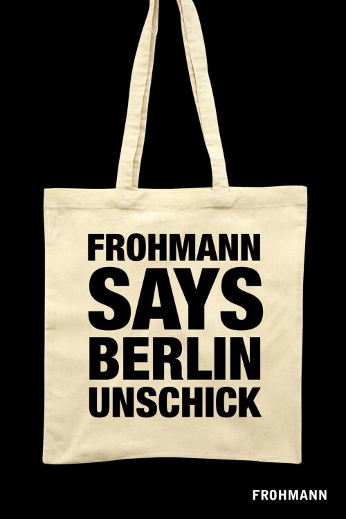 E-Book (mobi) 'Berlin Unschick' von Christiane Frohmann (Hg.)