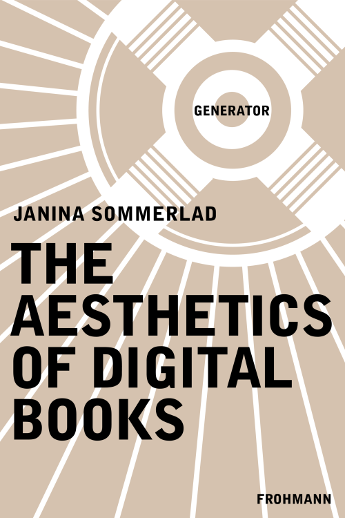 E-Book (PDF) 'The Aesthetics of Digital Books' by Janina Sommerlad