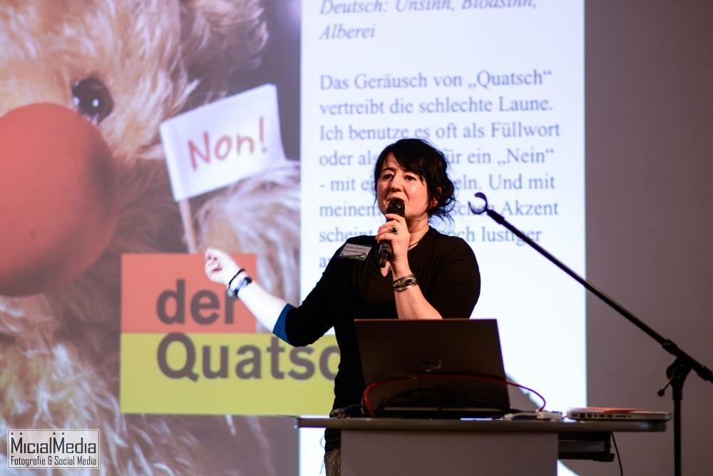 OM_Wibke Ladwig bei Vortrag in Karlsruhe_Photographer Michael M. Roth_MicialMedia
