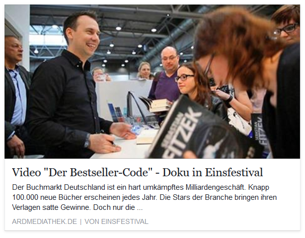 ARD-Doku: Der Bestseller-Code