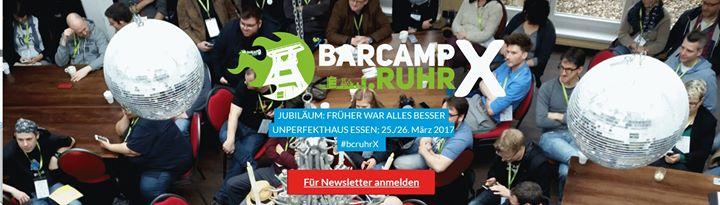 barcamp.ruhr X