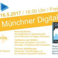 Erster Münchner Digital Dialog