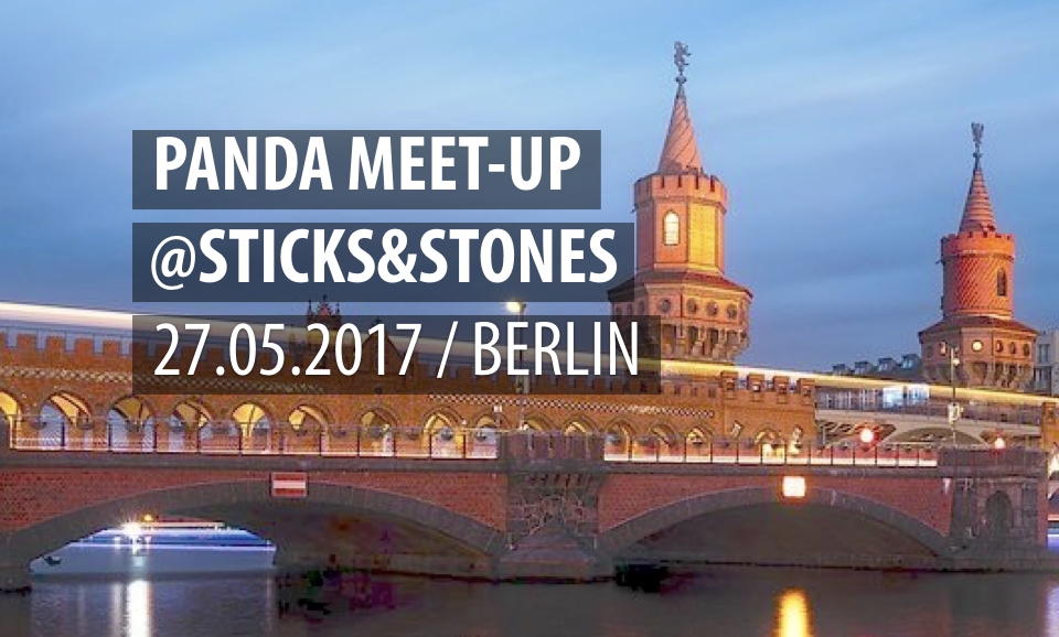 panda meet up sticks stones berlin orbanism eventverzeichnis. Black Bedroom Furniture Sets. Home Design Ideas