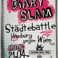 Diary Slam Länderbattle Deutschland vs. Österreich, Teil I