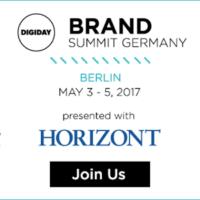 Digiday Brand Summit Germany 2017