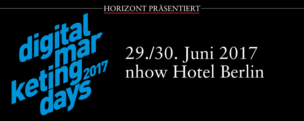 HORIZONT Digital Marketing Days 2017