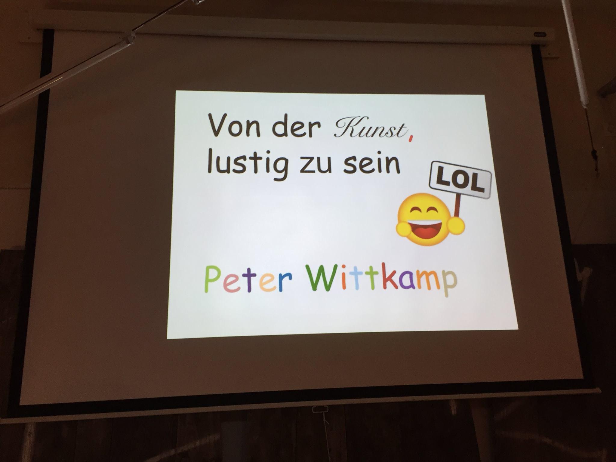 20. #pubnpub Berlin mit Peter Wittkamp – von der Kunst, lustig zu sein