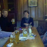 So waren die ersten drei #pubnpub Frankfurt
